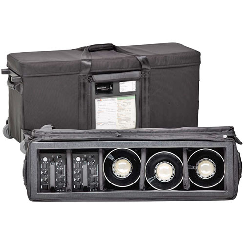 Tenba AW-LLC Large Lighting Case with Wheels (Black)