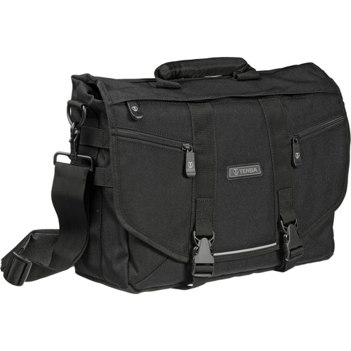 Tenba Messenger: Small Photo/Laptop Bag (Black)