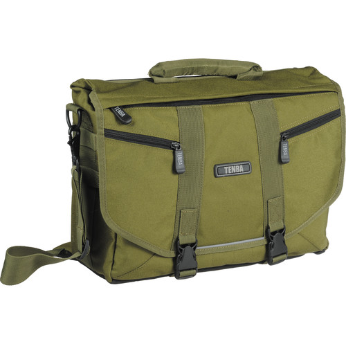 Tenba Messenger: Small Photo/Laptop Bag (Olive Green)