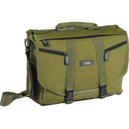 Tenba Messenger: Large Photo/Laptop Bag (Olive Green)