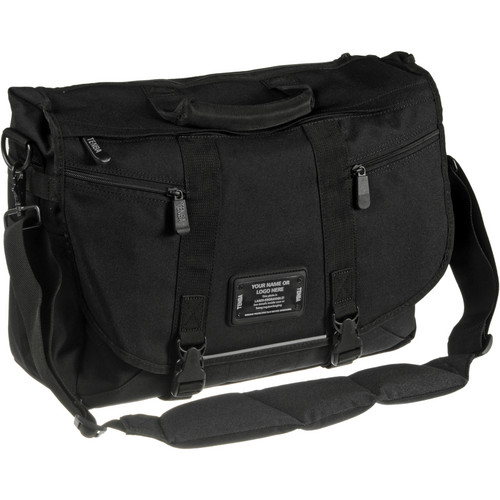 Tenba Messenger: Large Photo/Laptop Bag (Black-Engraveable)