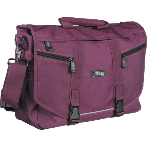 Tenba Messenger: Large Photo/Laptop Bag (Plum)