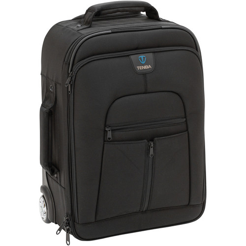 Tenba Roadie II: Universal Hybrid Roller/Backpack (Black)