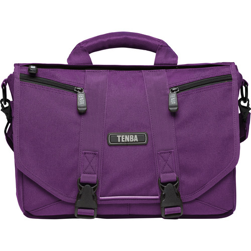 Tenba Photo/Laptop Messenger Bag (Mini, Plum Purple)