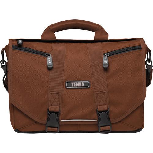 Tenba Photo/Laptop Messenger Bag (Mini, Chocolate Brown)