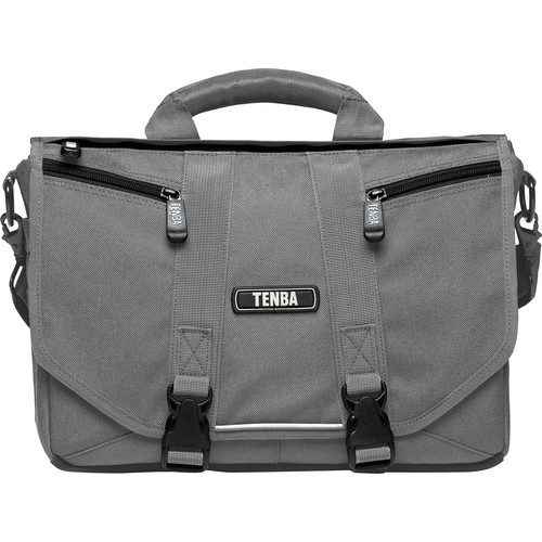 Tenba Photo/Laptop Messenger Bag (Mini, Platinum Grey)