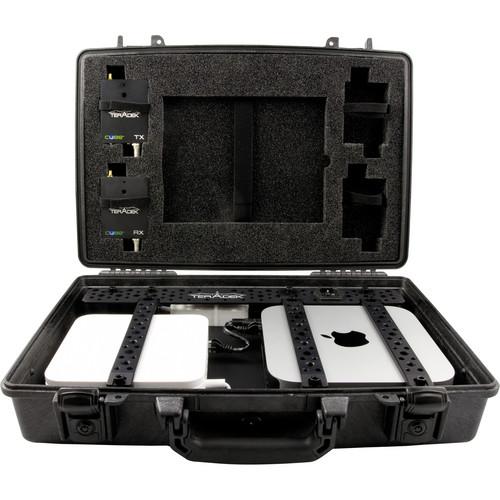 Teradek Case with 2 Cube-150 Transmitters & Cube-350 HD-SDI Decoder