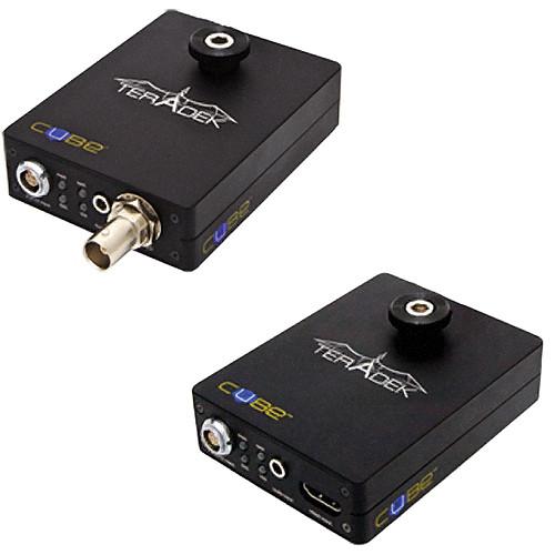 Teradek Cube 100/400 1Ch HD-SDI HDMI Encoder/Decoder Combo