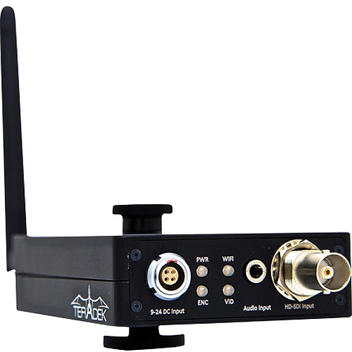 Teradek Cube-550 1ch Composite Encoder With Dual Band WiFi & USB Port
