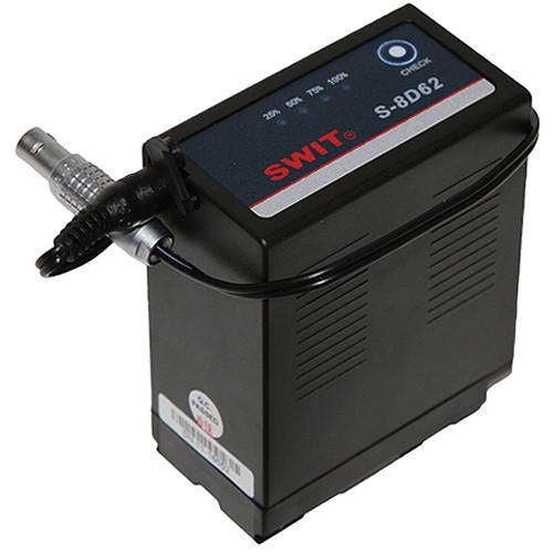 Teradek Cubit-643 SWIT Replacement Battery Lemo to Barrel For Panasonic D54