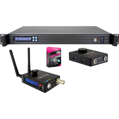 Teradek Bond / Cube-155 with MPEG-TS / Cube-355 / and Sputnik