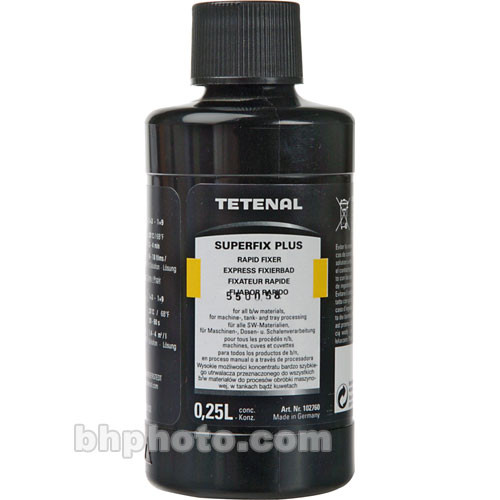 Tetenal Superfix for Black & White Film and Paper