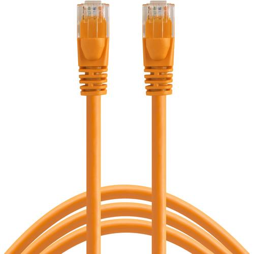 Tether Tools 50' (15.24 m) TetherPro Cat6 550 MHz Network Cable (Hi-Visibility Orange)