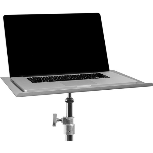 """Tether Tools Tether Table Aero for 17"""" Apple MacBook Pro (Brushed Silver Finish)"""