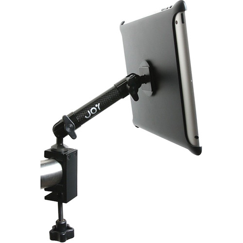 The Joy Factory Tournez C-Clamp Mount for new iPad & iPad 2