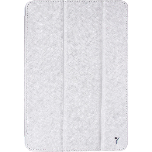 The Joy Factory SmartSuit Mini Ultra-Slim Snap-on Case/Stand for iPad mini (White Silver)