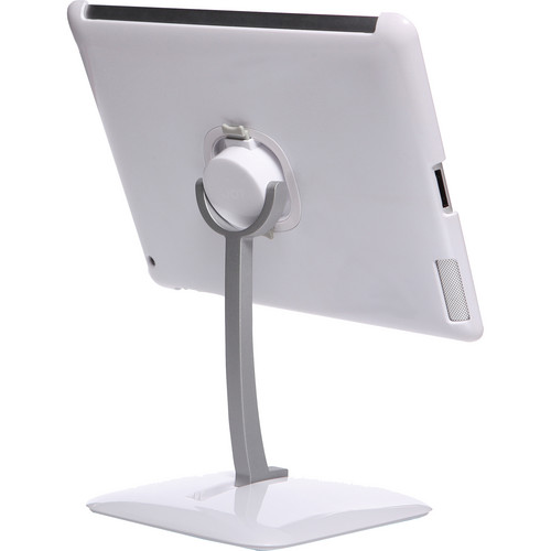 The Joy Factory Klick, Desk Stand with 720 Rotation and Detachable, Smart Cover Compatible Case (White)