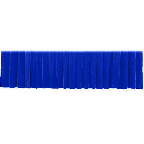 "The Screen Works Drapery Panel for the 12'x50"" Classic Screen - Velaire  - Blue"