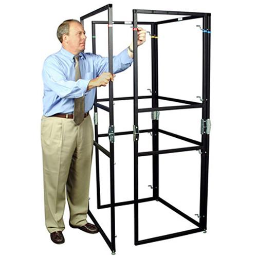 The Screen Works E-Z Fold Equipment Tower Frame