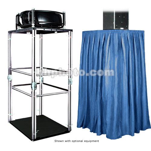 The Screen Works E-Z Fold Equipment Tower Kit (Velaire/Blue)
