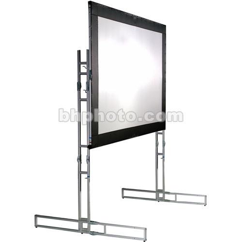 "The Screen Works E-Z Fold Truss Style Screen - Front  Projection - 8'6"" x 11' - 150""  Diagonal - Video Format (4:3 Aspect Ratio) - Matte Brite Plus"