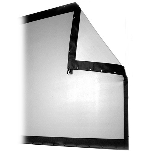 """The Screen Works Replacement Surface ONLY for E-Z Fold Truss Rear  Projection Screen - 10x13' - 180""""  - Video (4:3 Aspect Ratio) - Rear Projection"""