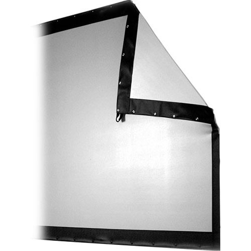 The Screen Works Replacement Surface ONLY for Stager's Choice Folding Truss Frame Front Projection Screen - 7x19' - Wide-Screen Format (1.85:1 Aspect Ratio) - Matte White