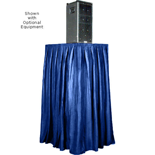 The Screen Works Skirt for the E-Z Fold Equipment Tower - Skirt ONLY - Velaire/Blue