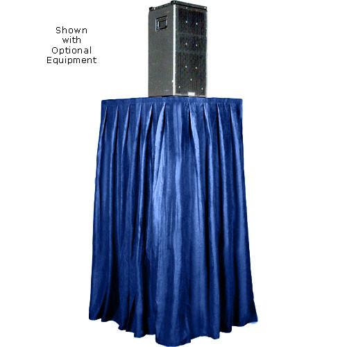 The Screen Works Skirt for the E-Z Fold Equipment Tower - Skirt ONLY - Velaire/Blue