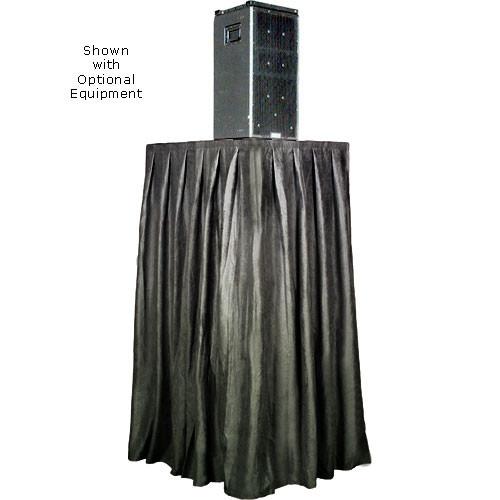 The Screen Works Skirt for the E-Z Fold Equipment Tower - Skirt ONLY - Velaire/Black
