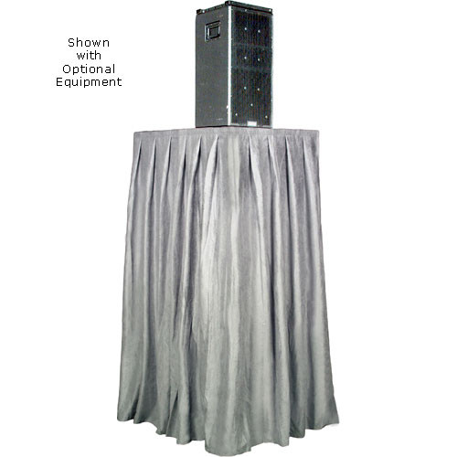 The Screen Works Skirt for the E-Z Fold Equipment Tower - Skirt ONLY - Velaire/Gray