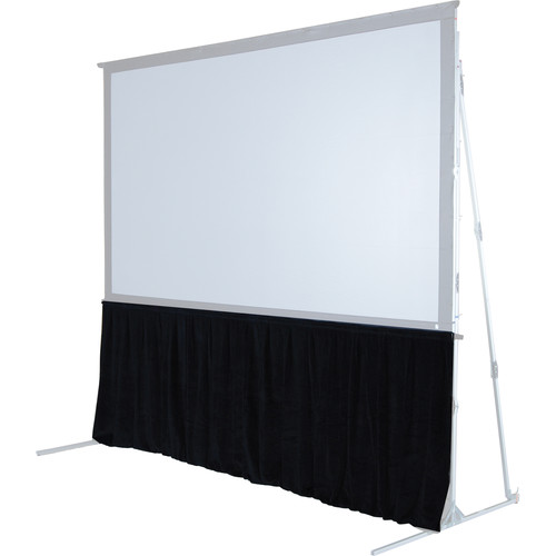"The Screen Works 48"" Skirt for the 12x12' E-Z Fold Projection Screen-Burgundy"