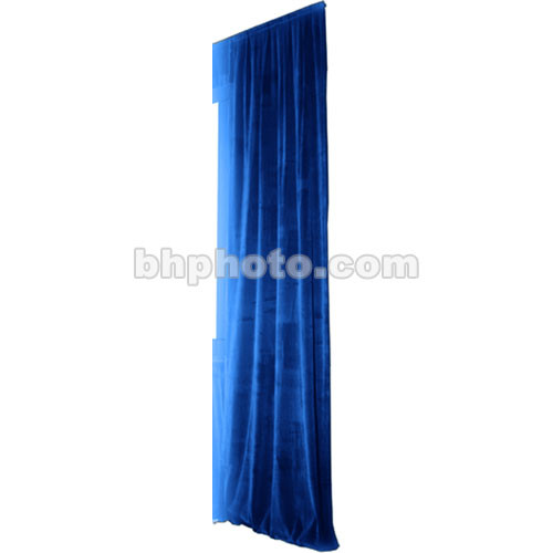 The Screen Works Truss Drapery Panel - 16x6' - Blue