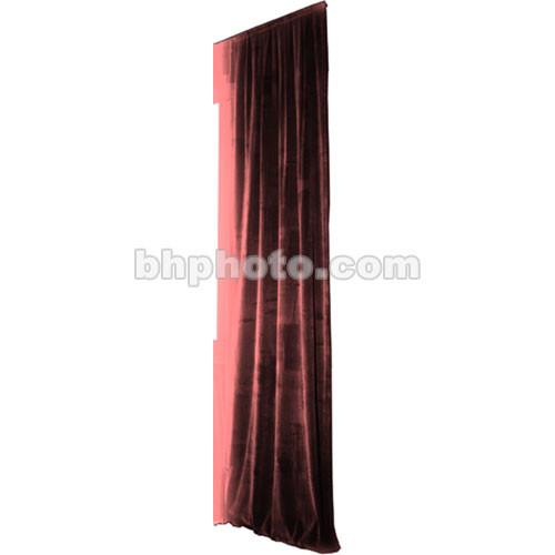 The Screen Works Truss Drapery Panel - 16x6' - Burgundy
