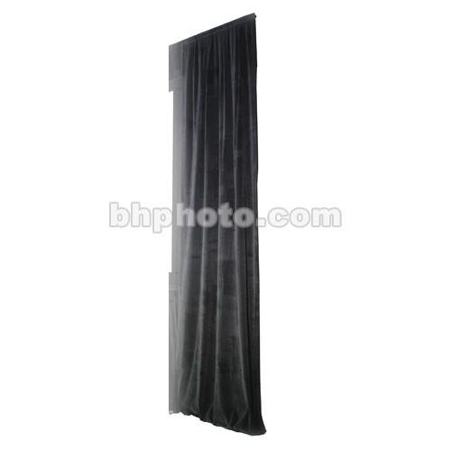 The Screen Works Truss Drapery Panel - 18x6' - Black