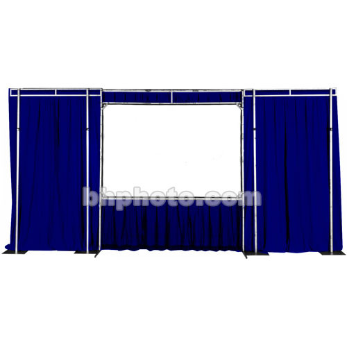 The Screen Works Trim Kit for the E-Z Fold Truss 11x31' Projection Screen - Blue