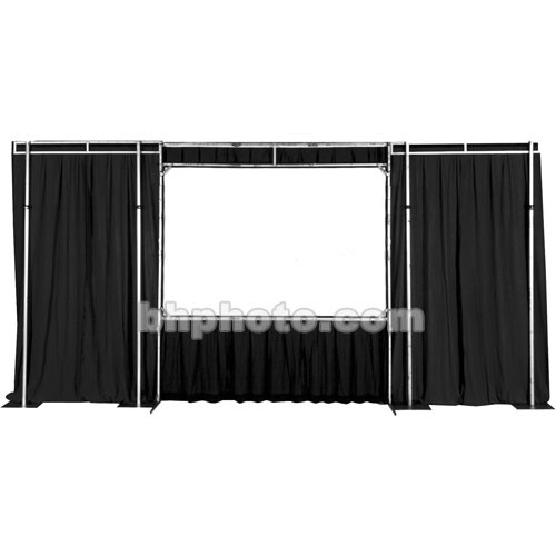 The Screen Works Trim Kit for the E-Z Fold Truss 8x22' Projection Screen - Black