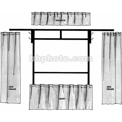 The Screen Works Trim Kit for the E-Z Fold 8x8' Projection Screen (Gray)