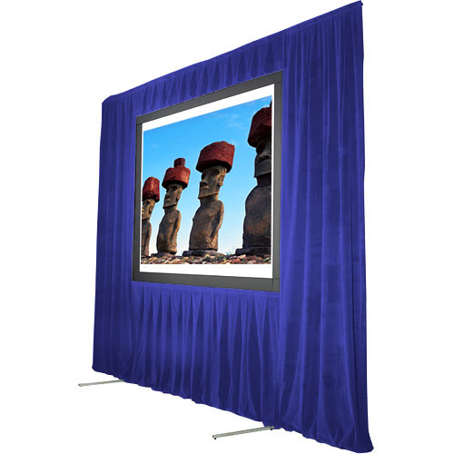 "The Screen Works Trim Kit for the Stager's Choice 8'6""x14' Projection Screen - Blue"