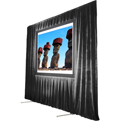 "The Screen Works Trim Kit for the Stager's Choice 8'6""x14' Projection Screen - Black"