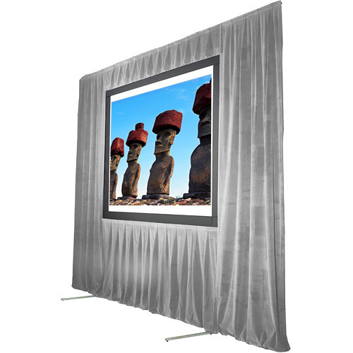 """The Screen Works Trim Kit for the Stager's Choice 8'6""""x14' Projection Screen - Gray"""