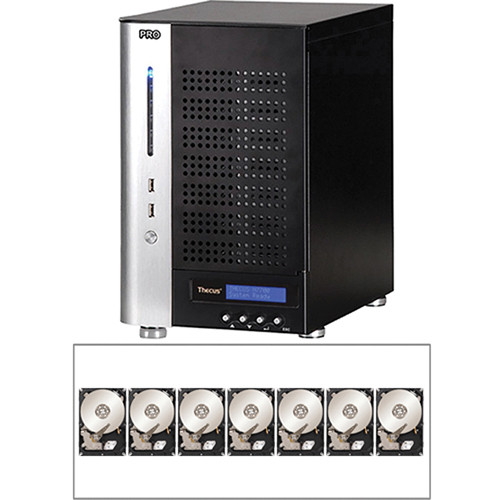 Thecus 21TB (7x 3TB) N7700PRO v2 7-Bay Tower NAS Server and Hard Drives Kit