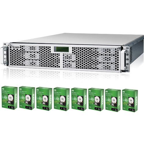 Thecus 8TB (8 x 1TB WD Caviar Green) i8500 iSCSI Raid System Kit