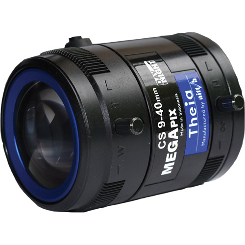 Theia Technologies CS-Mount 9-40mm f/1.5 5 Mp Telephoto Day/Night P-Iris Lens