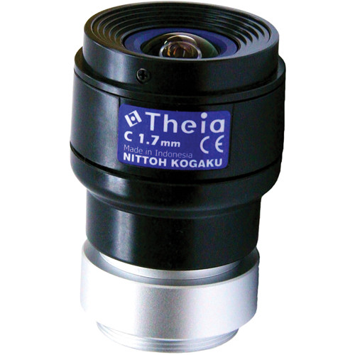 Theia Technologies C-Mount 1.68mm Day/Night Manual Iris Lens