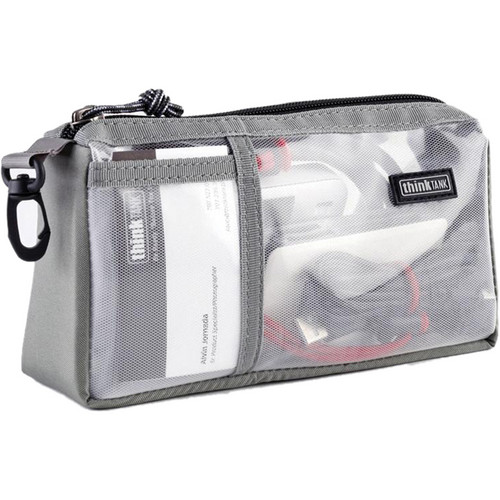 Think Tank Photo Cable Management 10 (Clear with Gray Trim)
