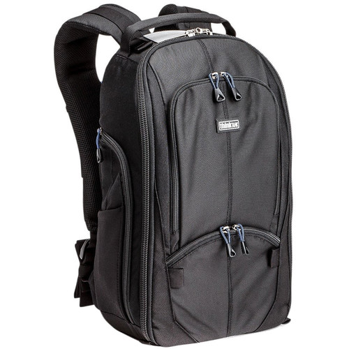 Think Tank Photo StreetWalker Backpack (Black/Silver/Blue)
