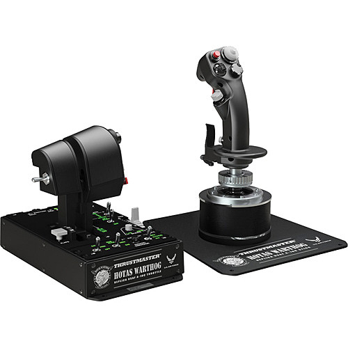 Thrustmaster HOTAS Warthog Flight Stick and Throttle
