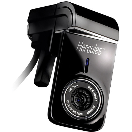 Thrustmaster Hercules Dualpix HD 720p Webcam for Notebooks