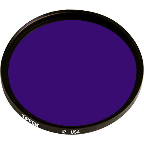 Tiffen #47 Blue Filter (105C, Coarse Thread)